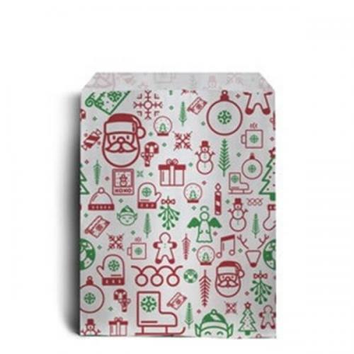 Christmas Counter.Iconic Christmas Sweet Paper Bags